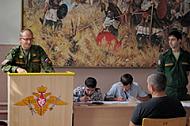 Встреча с командованием